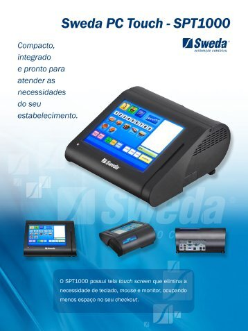 Sweda PC Touch - SPT1000