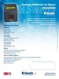 Terminal Verificador de Preços - ECD1200M - Sweda - Page 2