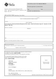 Application - Sweden Abroad