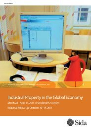 Industrial Property in the Global Economy - Sweden Abroad