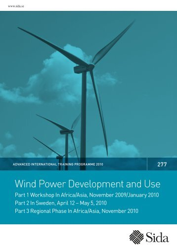 Wind Power Development and Use - Sweden Abroad