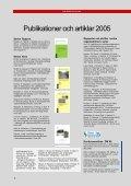 Portrycksprognoser - nytt doktorandprojekt, sid 2-3 Pågående FoU ... - Page 6