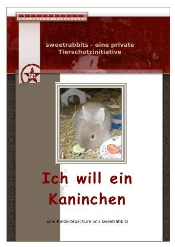 Ich will ein Kaninchen - Sweetrabbits.de