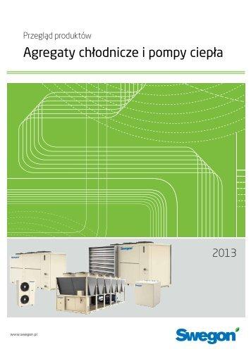 Pobierz katalog - Agregaty chłodnicze i pompy ciepła (pdf) - Swegon