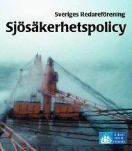 Sjösäkerhetspolicy - Sveriges Redareförening