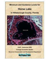 Horse Lake - Southwest Florida Water Management District