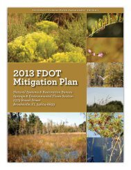 2013 FDOT Mitigation Plan - Southwest Florida Water Management ...