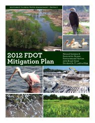 2012 FDOT Mitigation Plan - Southwest Florida Water Management ...