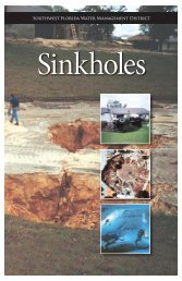 Sinkhole Brochure - Southwest Florida Water Management District