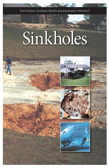 Sinkhole Brochure - Southwest Florida Water Management District