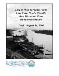 Lower Hillsborough River Low Flow Study Results And Minimum ...