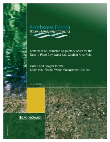 Statement of Estimated Regulatory Costs for the Dover / Plant City ...