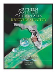 Southern Water Use Caution Area Recovery Strategy - Southwest ...