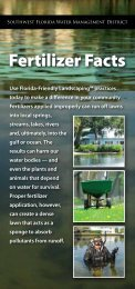 Fertilizer Facts - Southwest Florida Water Management District