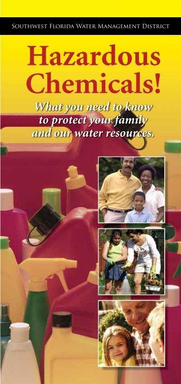 Hazardous Chemicals! - Southwest Florida Water Management District