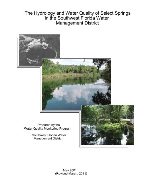 The Hydrology and Water Quality of Select Springs - Southwest ...