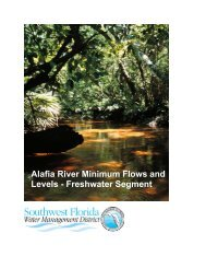 Alafia River Minimum Flows and Levels - Southwest Florida Water ...