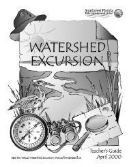 Watershed Excursion Teacher's Guide - Southwest Florida Water ...