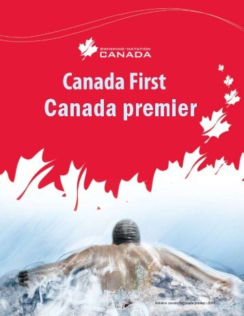 Télécharger le document Canada Premier (PDF) - Swimming Canada