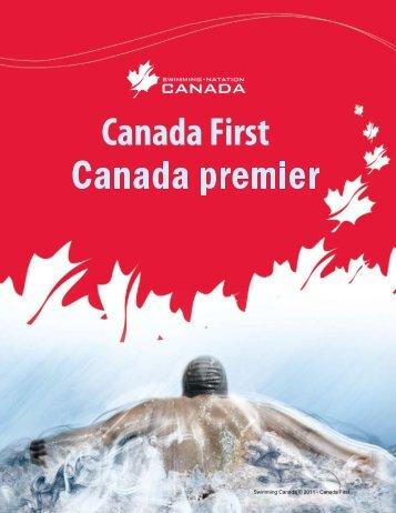 Swimming Canada © 2011 - Canada First