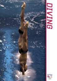 Diving Divider - Swimming.Org