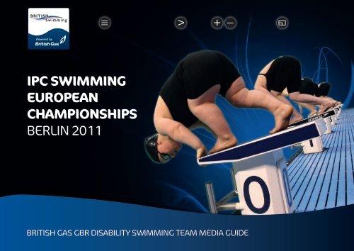 ipc swimming european championships berlin 2011 - Swimming.Org