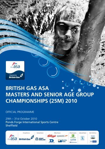 british gas asa masters and senior age group ... - Swimming.Org