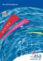 The ASA Handbook - Swimming.Org