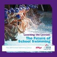 The Future of School Swimming - Swimming.Org