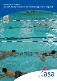 From Policy to Pool An ASA policy document on ... - Swimming.Org