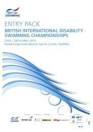 Entry Pack International - Swimming.Org