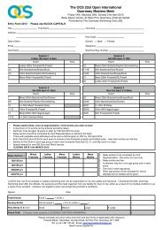 Entry pack. - Swimming.Org