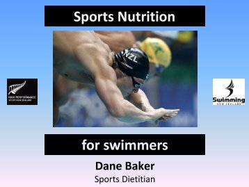 Sports Nutrition for Swimmers