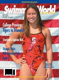 College Preview: Tigers to Triumph? - Swimming World Magazine