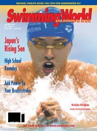 Japan's Rising Son - Swimming World Magazine