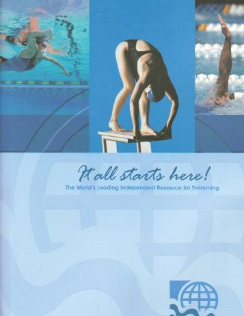 2013 Media Kit - Swimming World Magazine