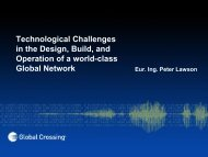 Technological Challenges in the Design, Build, and ... - SwiNOG