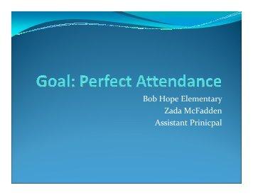 Bob Hope Perfect Attendance