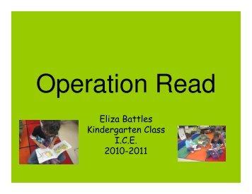 Operation Read