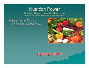 Nutrition Power