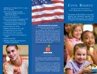 Civil Rights Brochure - English