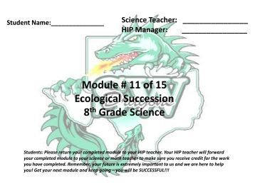 succession lab Application of succession theory to aquatic environments the term 'ecological   differences between field and laboratory conditions can often be explained.
