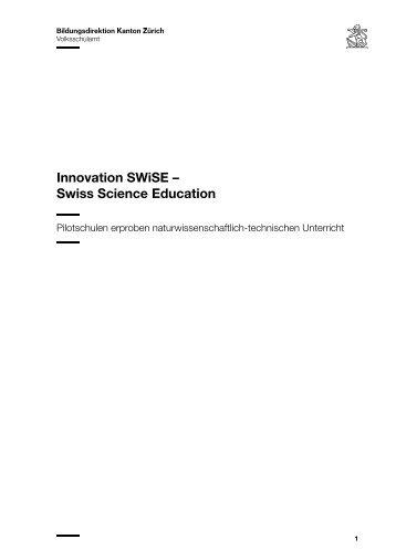 Flyer (ohne Bilder) - SWiSE