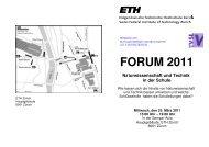 Forum 2011 definitiv mit Verbesserungen - SWiSE
