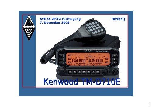 Kenwood TM-D710E - swiss-artg