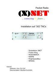 (X)NET auf TNC3/TNC4 - swiss-artg