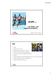 Kraft.... - Swiss Athletics