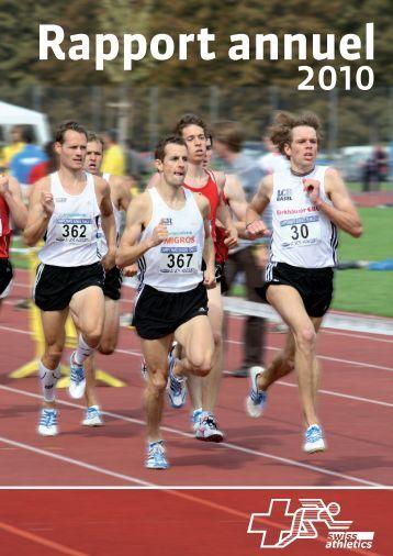 Rapport annuel 2010 - Swiss Athletics