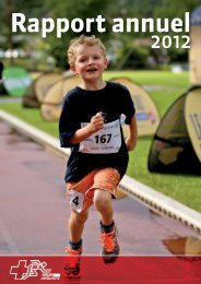 Lien vers le rapport annuel 2012 - Swiss Athletics