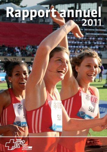 Rapport annuel 2011 - Swiss Athletics